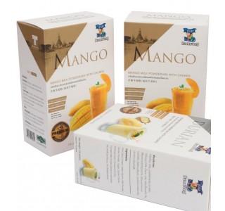 Mango flavour milk powder  Fruit meat (test)